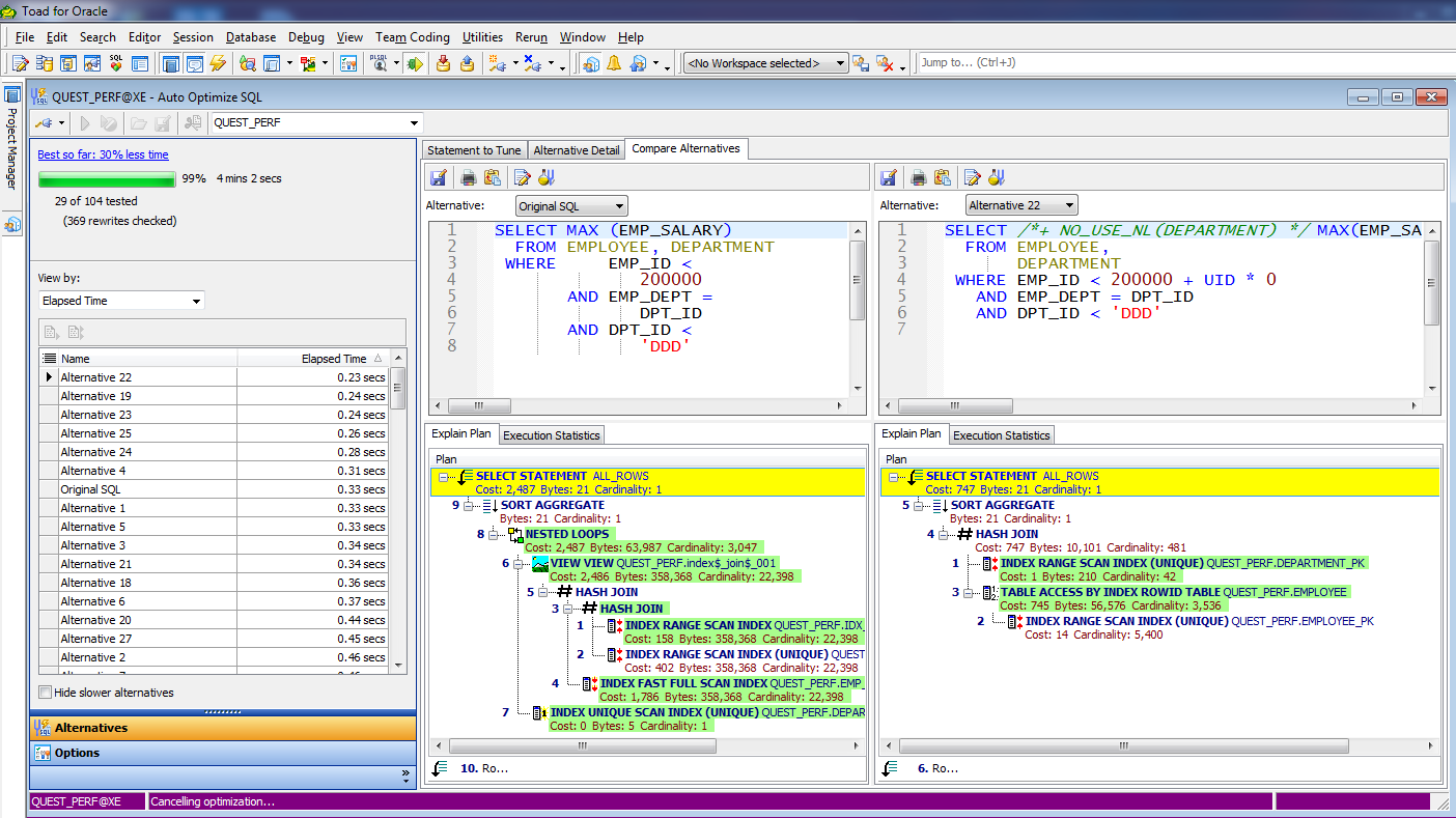 SQL Optimizer